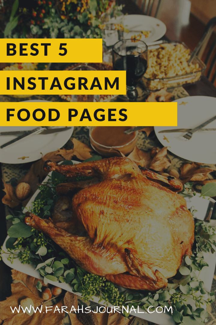 Best 5 Instagram Foodies