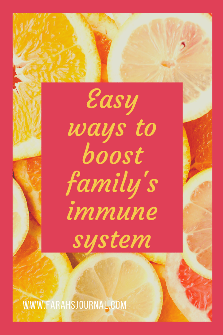 Easy ways to boost your family's immune system – for all ages.