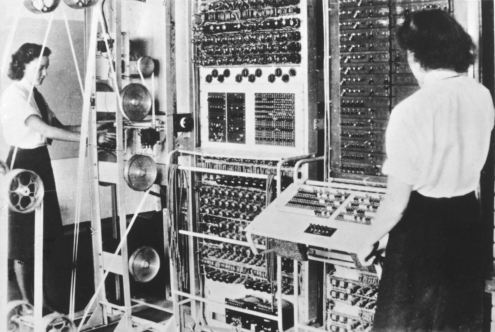 World War Ii Colossus Computer Code Breaker