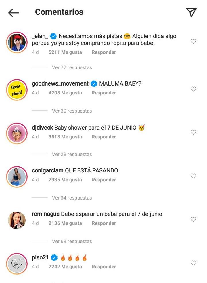 comentarios - maluma sera papa 2