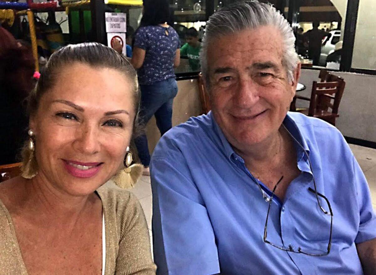 leticia calderón y su padre don mario calderón