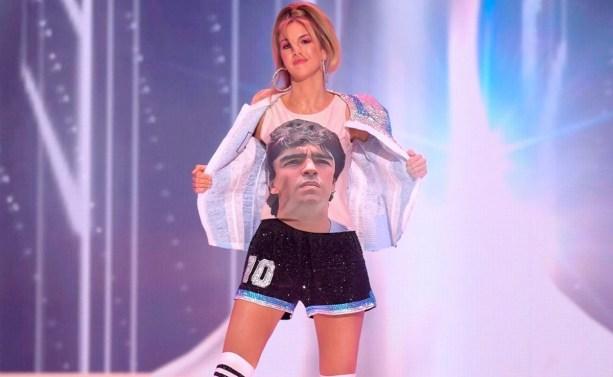 Traje típico de Miss Argentina en el Miss Universo 2021