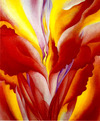 Red_canna_georgiaokeeffe
