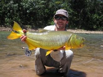 Chasing Dorados in the Bolivian Amazon.