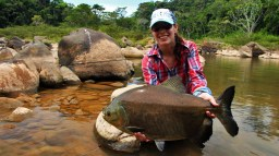 Lau with a great Pacu