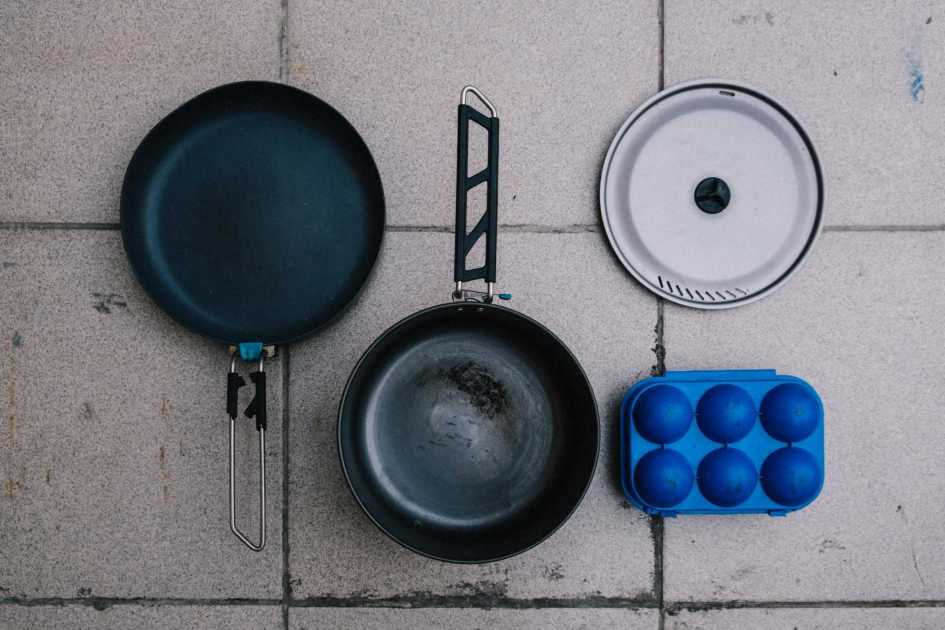 Our bikepacking pots and pans