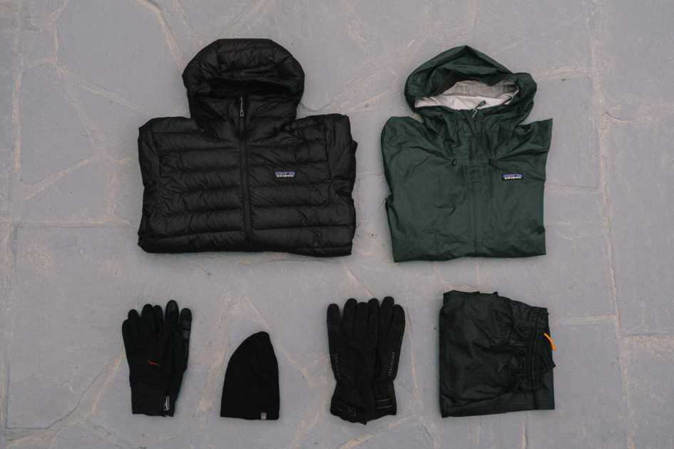 Men's bikepacking clothes cold weather