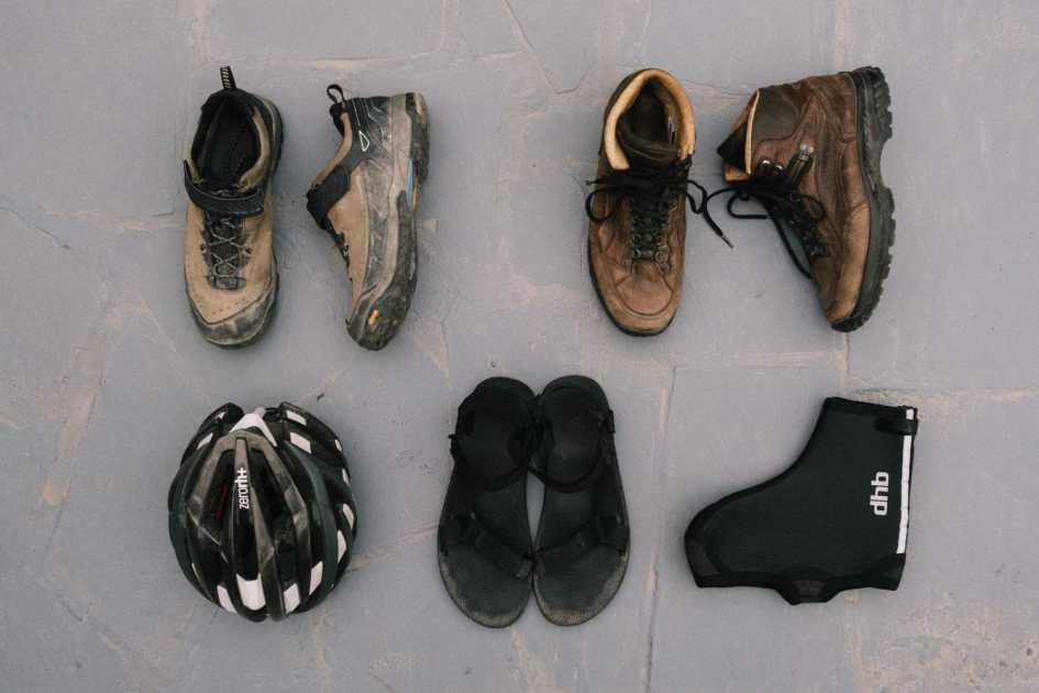 Men's bikepacking shoes