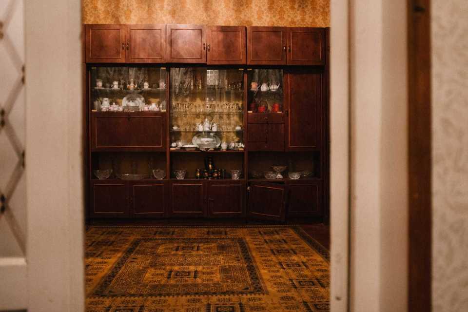 Old Soviet interior in Georgian house