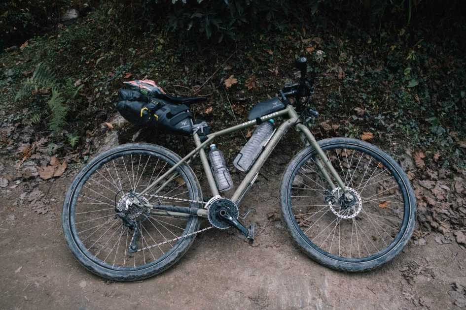 Avaghon X29 bikepacking setup with Apidura bags
