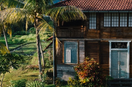 Our home on Bali