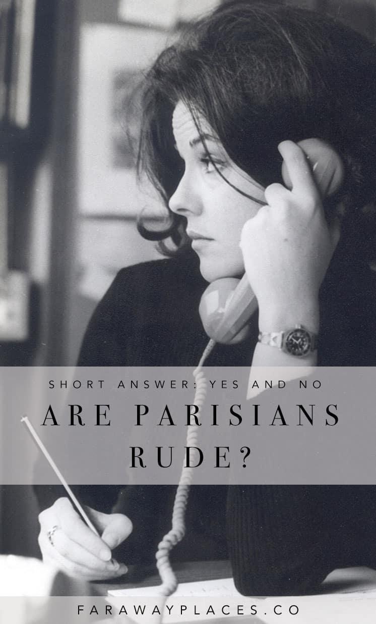 are parisians rude