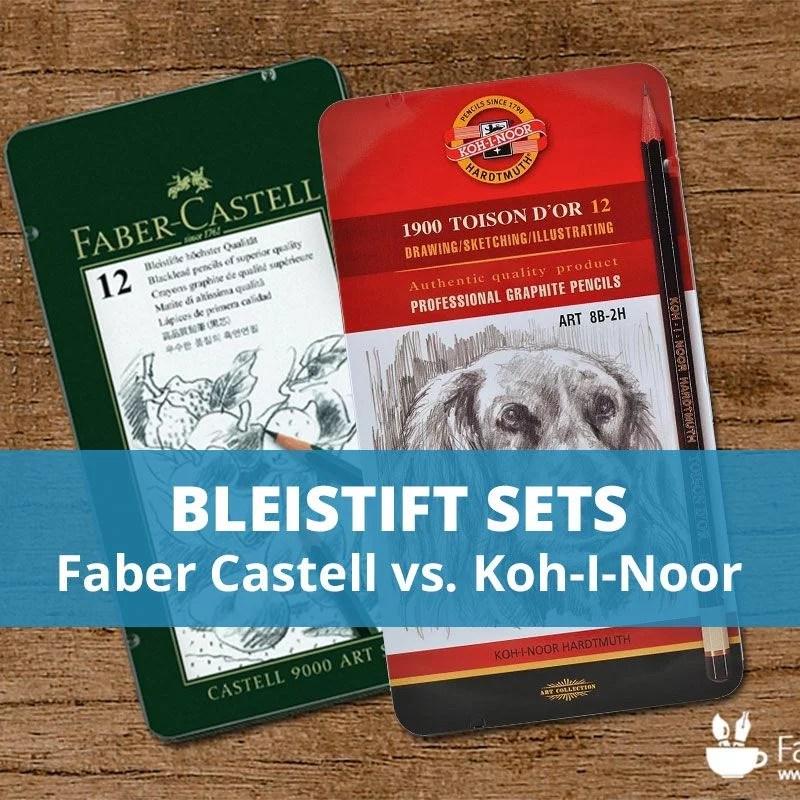 Bleistift Sets im Vergleichstest | Faber Castell vs KOH-I-NOOR