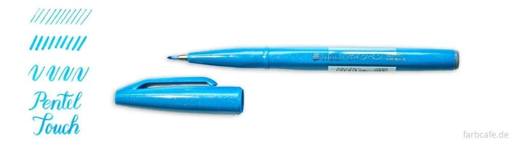 Pentel Touch Pen Brush Pen Vergleich FarbCafé