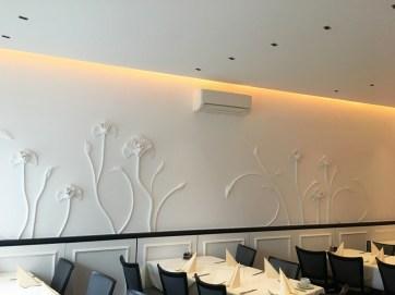 Wandgestaltung Restaurant - Wandorenament