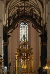 Blick in die Marienkirche Torun