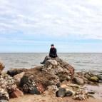 an der Grenze zw. Ostsee und Rigaer Bucht..