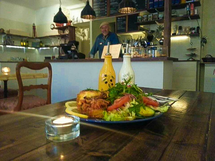 Lunch på en av Södermalms bästa grekiska restauranger