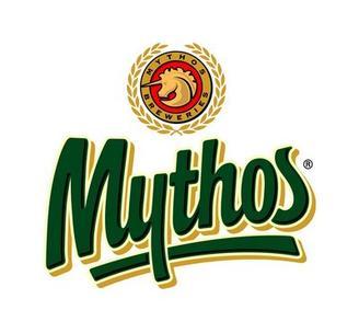 Logotyp för Mythos öl