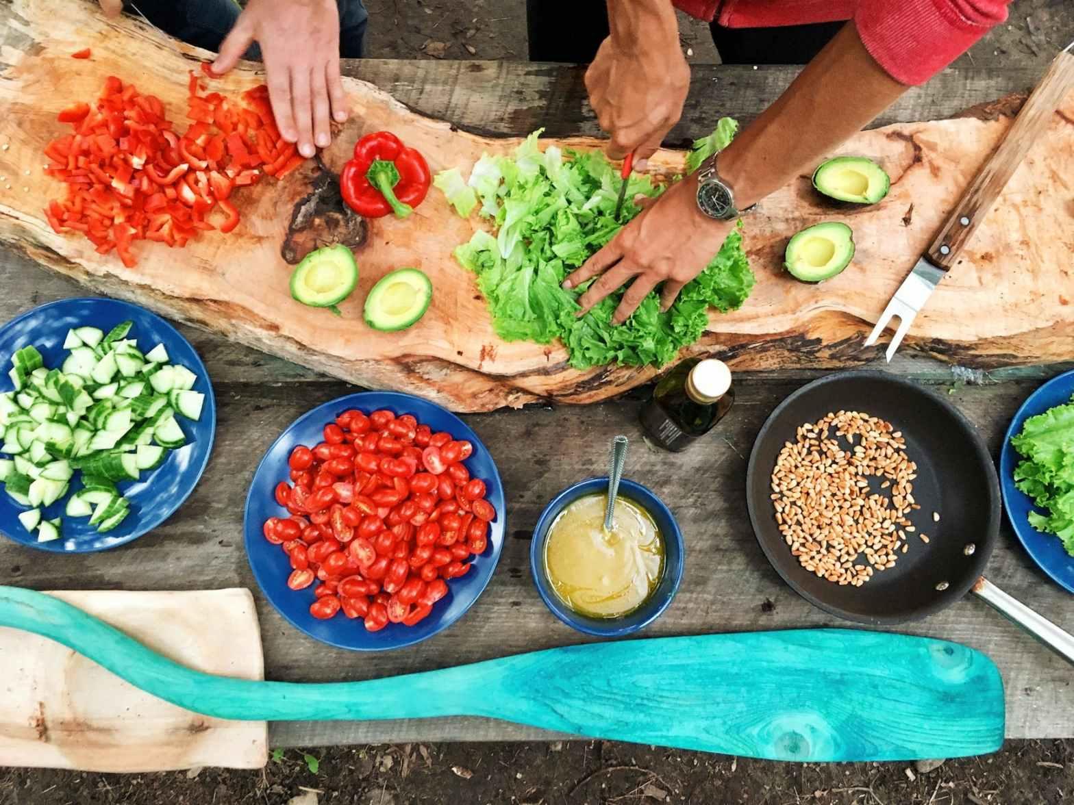 Fira vegetariska världsdagen med vegetarisk lunch