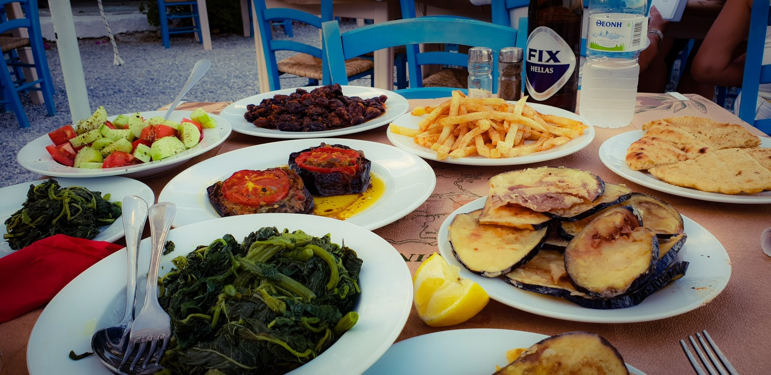 Grekisk mat: Vegetariska och veganska rätter på ön Aegina