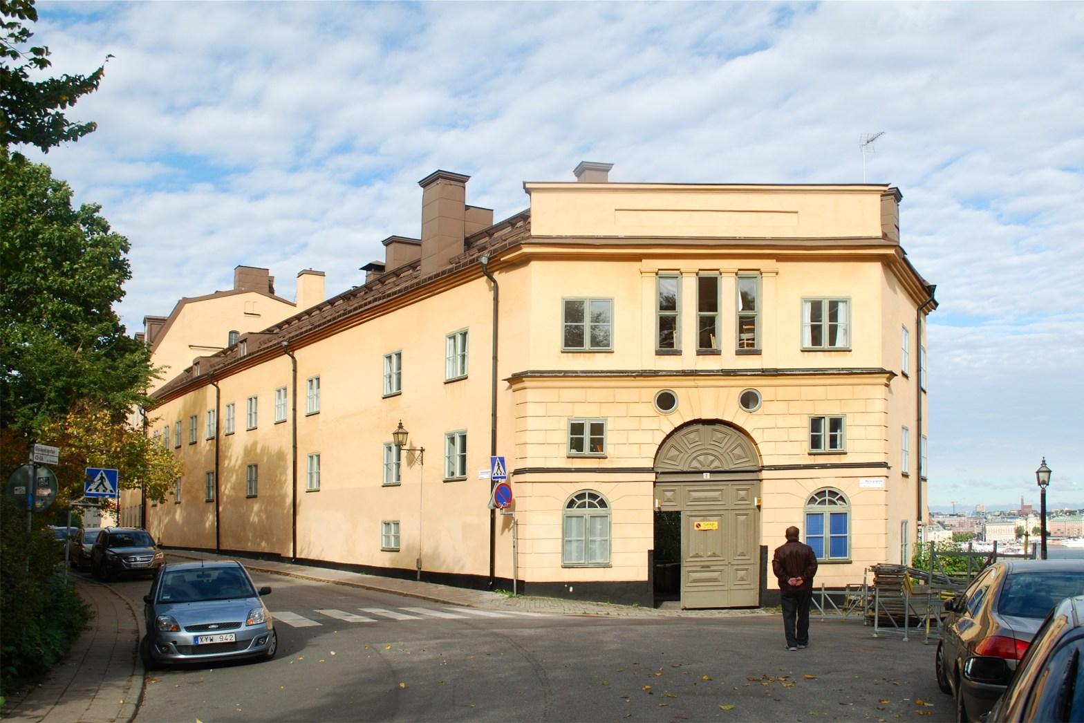 Kvarteret Dihlströms på Södermalm i Stockholm