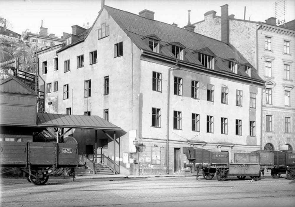 Krogen Lokatten i Stadsgården vid Slussen
