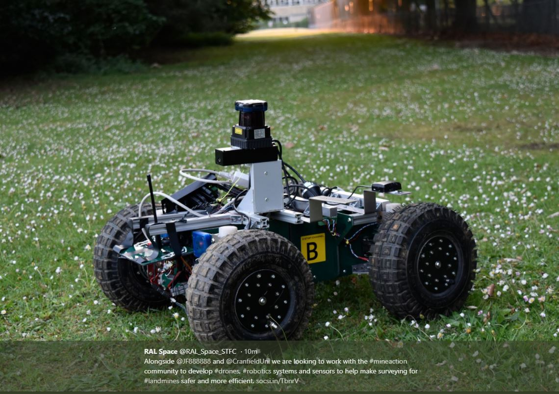 Robotics & Remote Sensing for Humanitarian Landmine Action