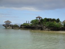 Rock Formations at Mangodlong Beach Resort