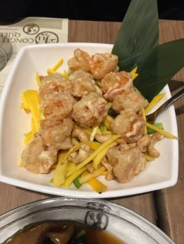 Tiger Shrimp and Mango Salad