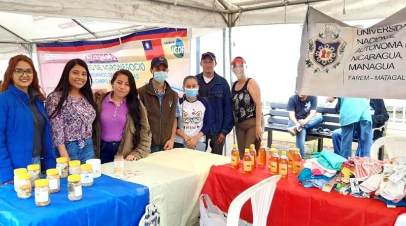 FAREM Matagalpa, haciendo extensión universitaria en el festival y expoferia regional 2020