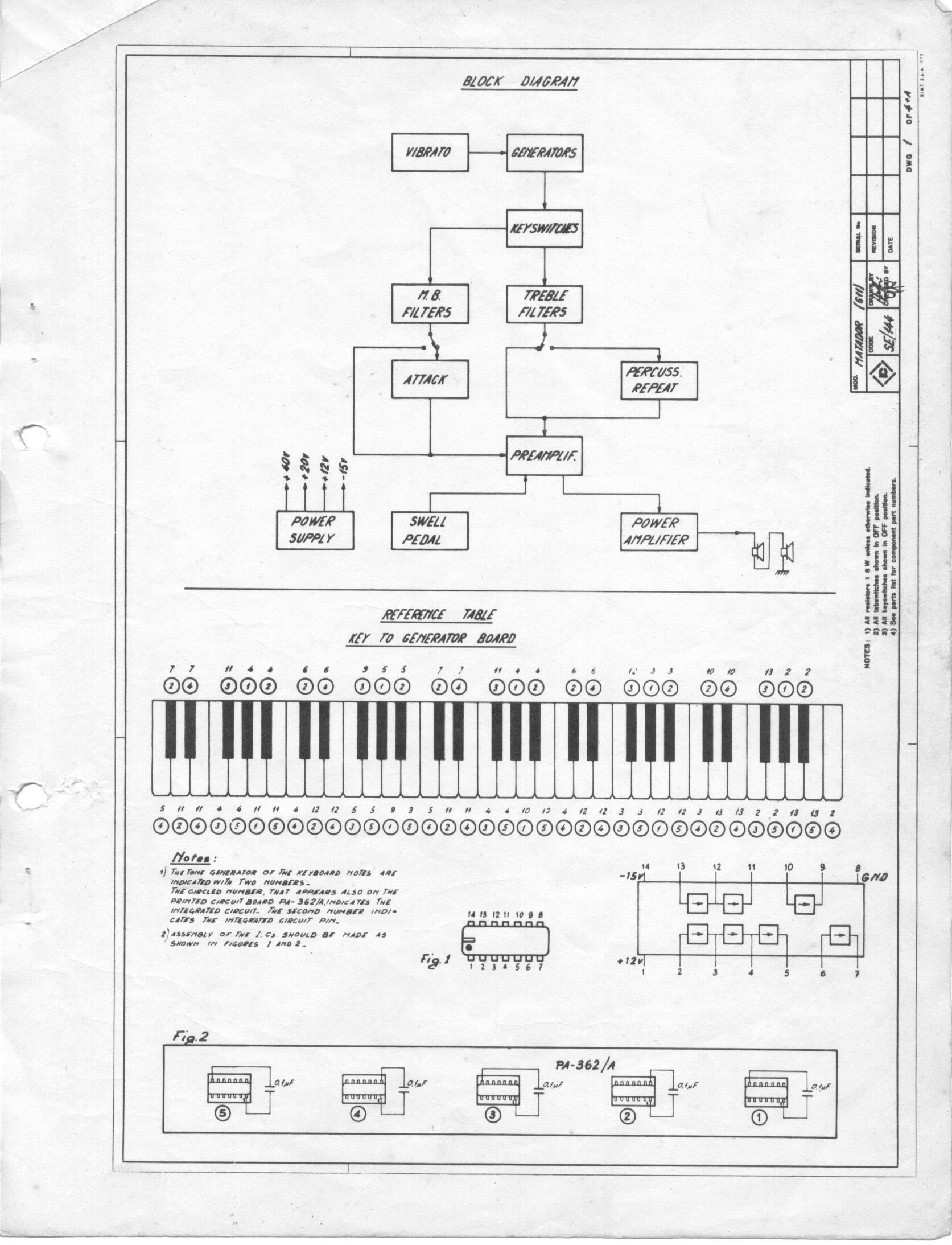 Enjoyable Schematics Archives Farfisa Org Wiring Digital Resources Jebrpcompassionincorg