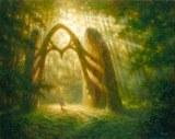 Porte d'un nouveau monde, accessible par notre esprit