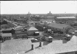 Looking southwest from the Fargo, N.D. Post Office tower, 1898-05