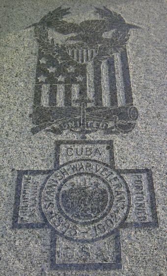 Spanish-American War monument in Kindred Cemetery, near Fargo.