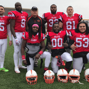 7 Of The 13 All-Stars Were Able To Make It To The Game Against The RIFL