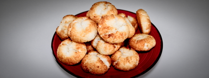 Biscotti al cocco, farinaeuova