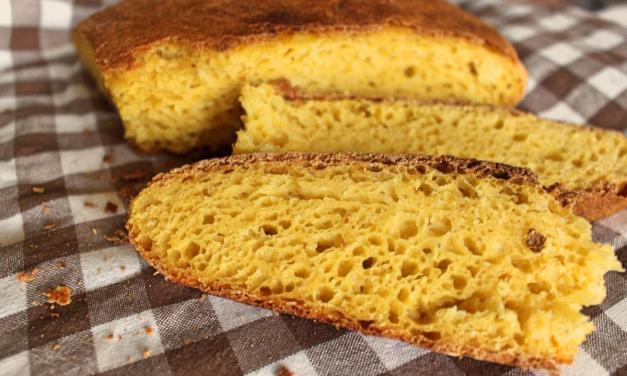 Pane di mais fatto in casa