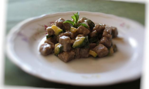 Gnocchi patate e grano saraceno