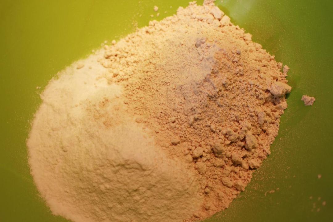 Farina di castagne e riso