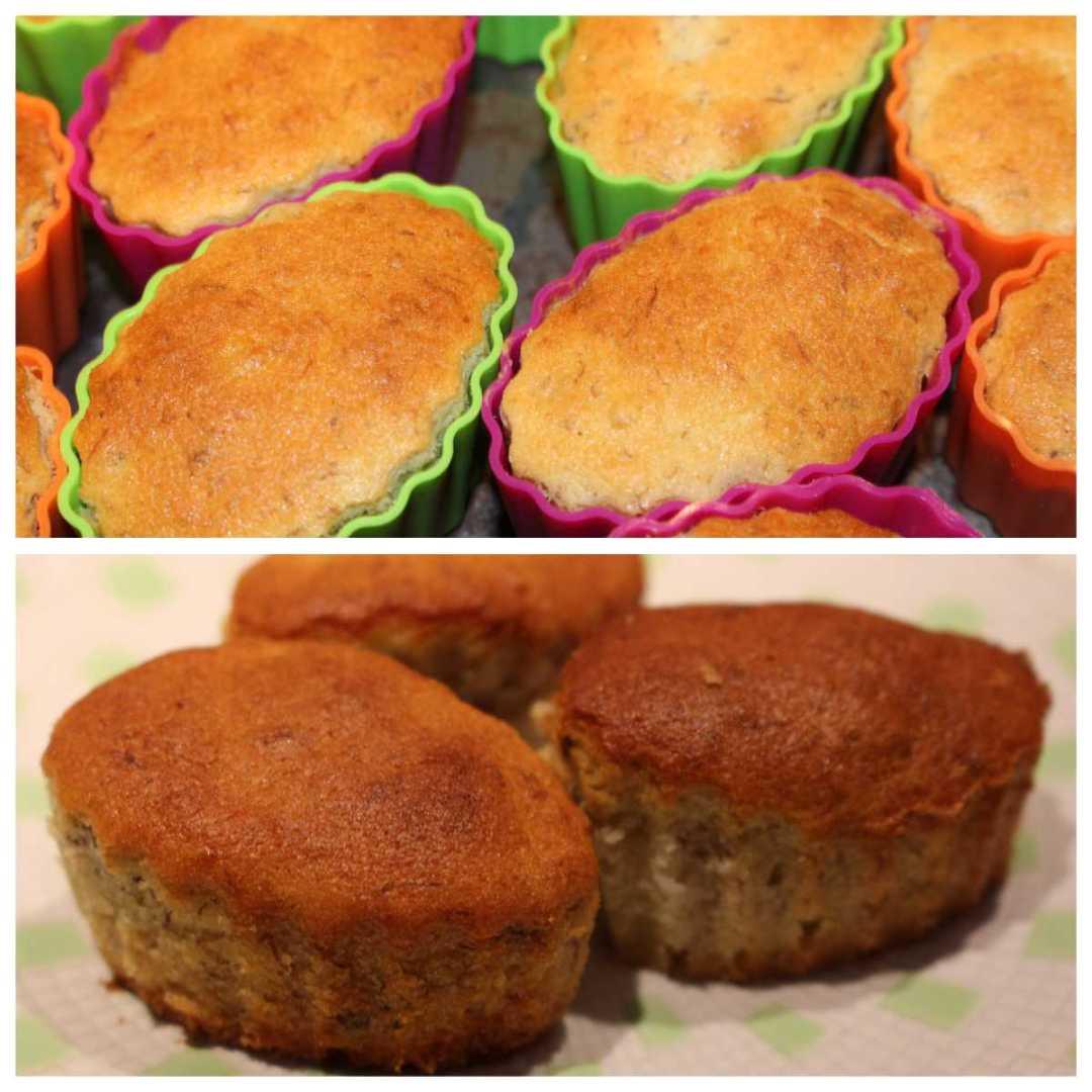 Muffin con farina di riso senza glutine