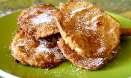 Come friggere patate dolci in pastella