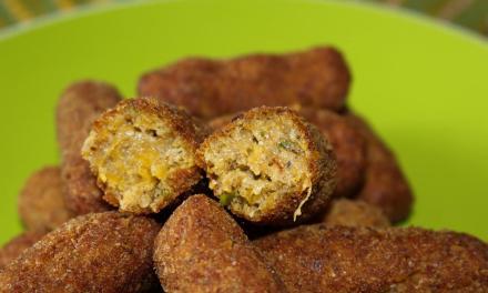 Crocchette di zucca e grano saraceno