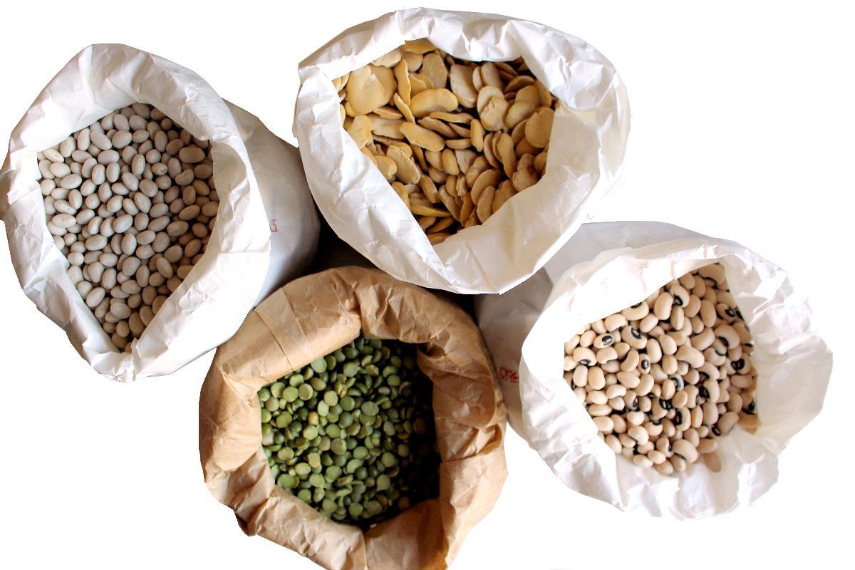 farine di legumi proprietà