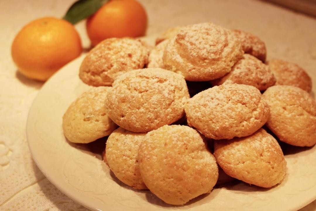 Biscotti di farro al mandarino