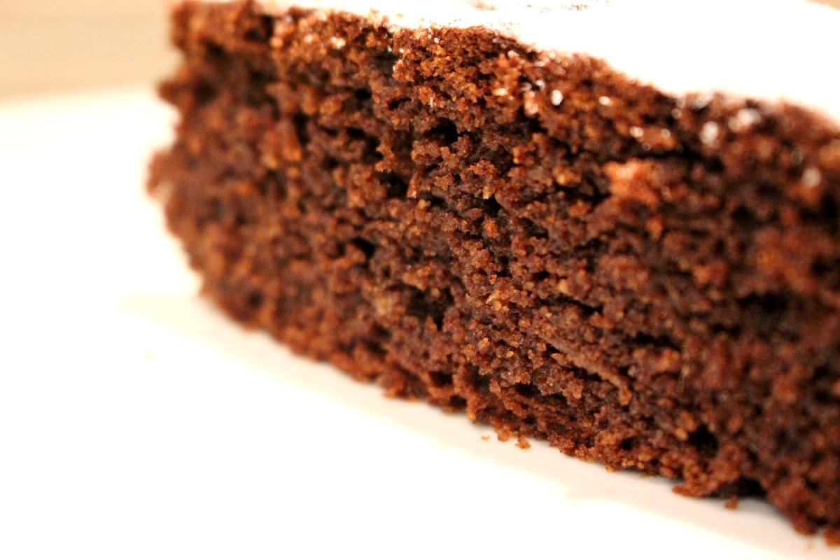 torta al cioccolato con patate dolci