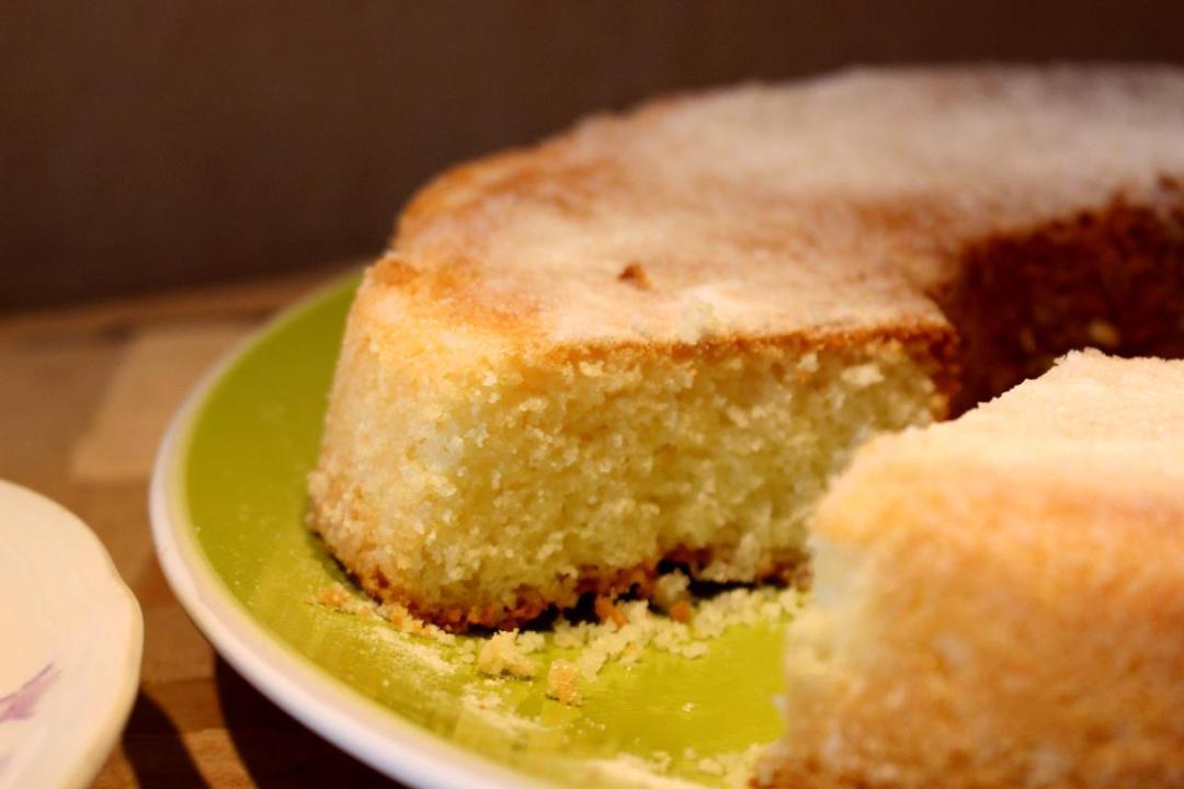 Dolce farina di riso e limone senza glutine