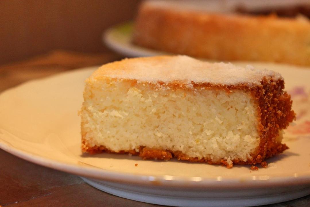 Torta farina di riso e limone senza glutine