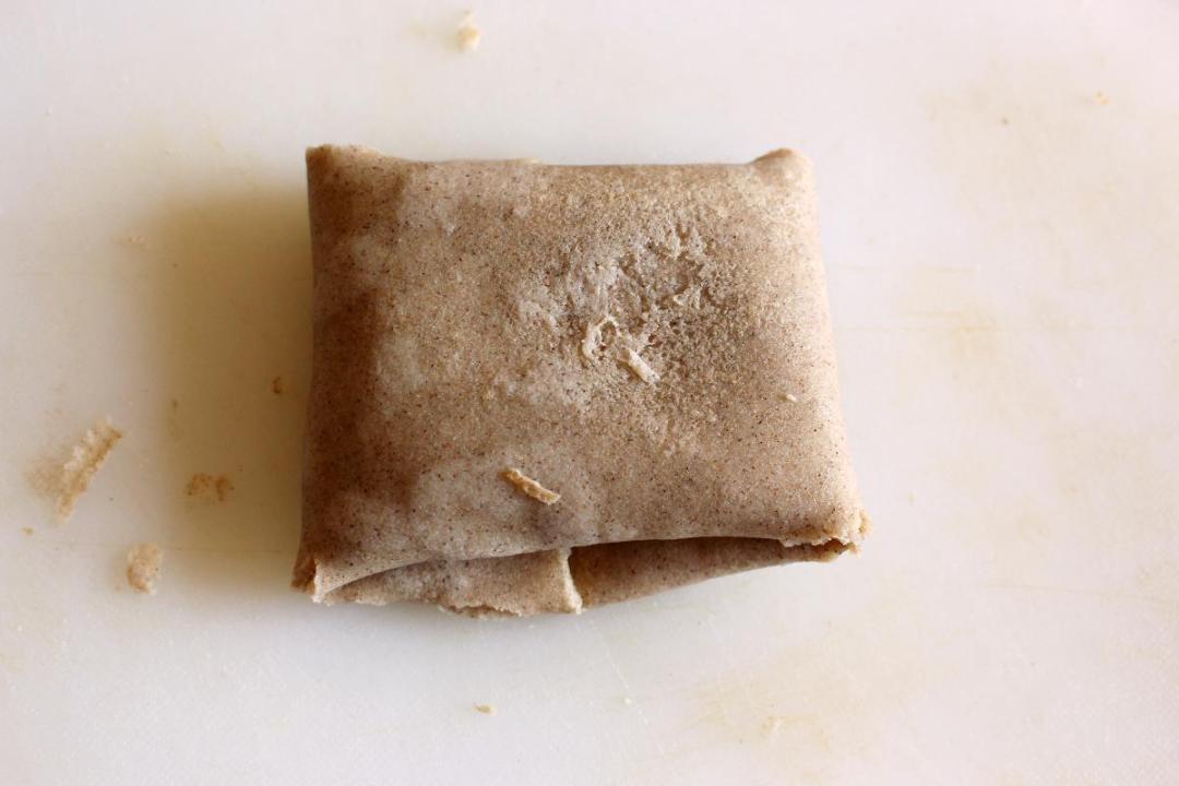 Fagottino con farina di  grano saraceno