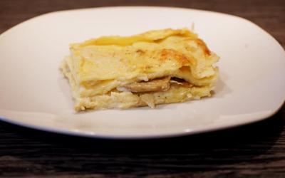 Pasta fresca all'uovo con semola – Lasagne ai carciofi